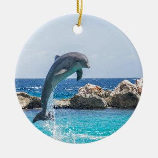 Bottlenose Dolphin Ceramic Ornament
