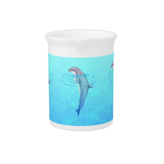 Bottlenose Dolphin Drink Pitcher