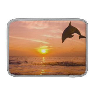 Bottlenose Dolphin jumping 2 Sleeve For MacBook Air