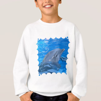 Bottlenose Dolphin Kid's Sweatshirt