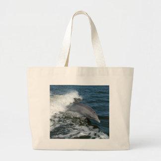 Bottlenose Dolphin Large Tote Bag