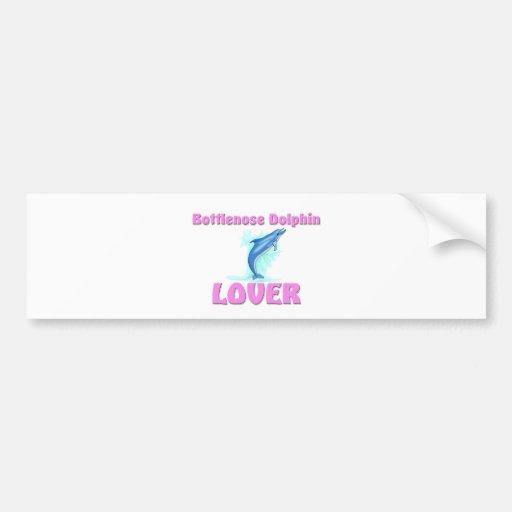Bottlenose Dolphin Lover Car Bumper Sticker