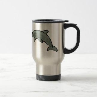 Bottlenose Dolphin 15 Oz Stainless Steel Travel Mug