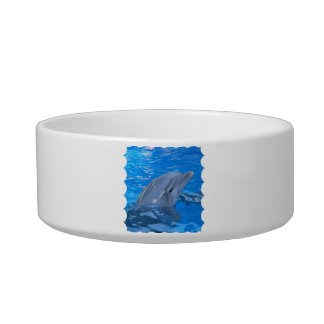 Bottlenose Dolphin Pet Bowl Cat Food Bowl