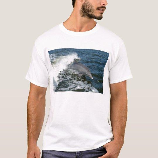 bottlenose dolphin photo mens t-shirt