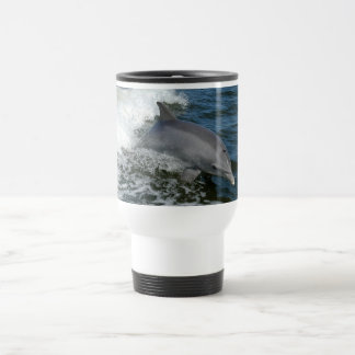 bottlenose dolphin photo travel commuter mug