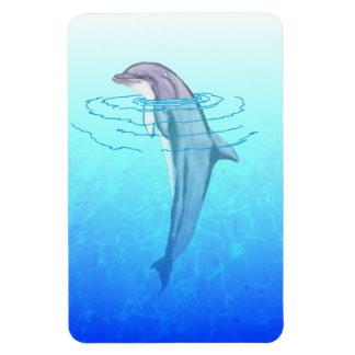 Bottlenose Dolphin Flexible Magnet
