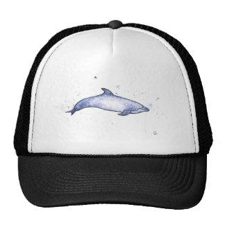 Bottlenose dolphin sea illustration trucker hat