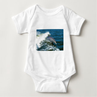 Bottlenose Dolphin Tursiops Truncatus Baby Bodysuit