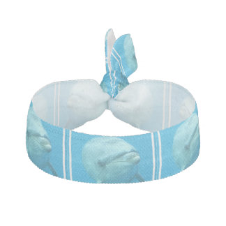 Bottlenose Dolphin Underwater Ribbon Hair Tie