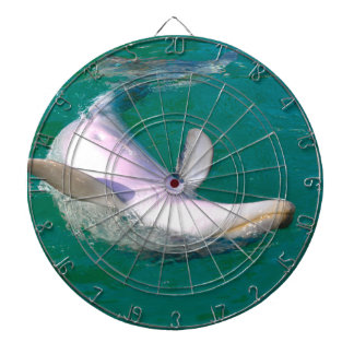 Bottlenose Dolphin Upside Down Dartboard