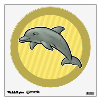 Bottlenose Dolphin Wall Sticker