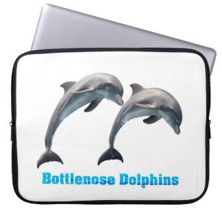 Bottlenose Dolphins image  Neoprene-Laptop-Sleeve Laptop Sleeve
