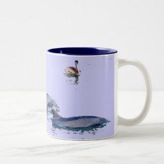 Bottlenose Dolphins Pelican Mug