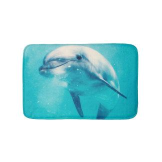 Bottlenosed Dolphin Underwater Bath Mat