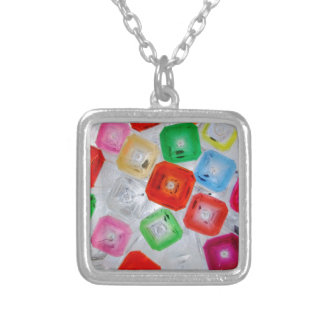 bottles 1 silver plated necklace