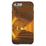 Bottles aging either in pupitres (racks) waiting iPhone 6 case