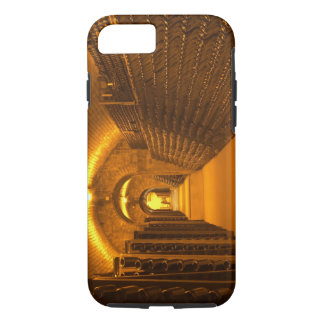 Bottles aging either in pupitres (racks) waiting iPhone 7 case