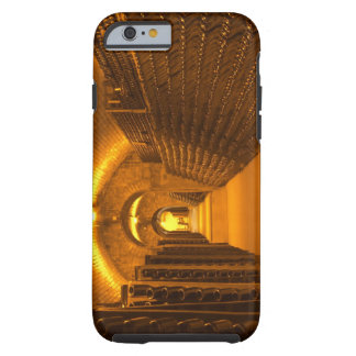 Bottles aging either in pupitres (racks) waiting tough iPhone 6 case