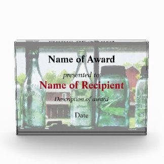 Bottles and Canning Jars Acrylic Award