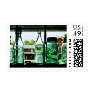 Bottles and Canning Jars Postage Stamps