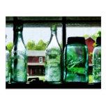Bottles and Canning Jars Postcard