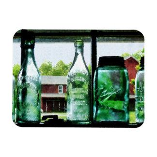 Bottles and Canning Jars Vinyl Magnet