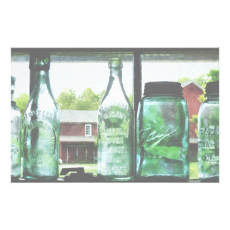 Bottles and Canning Jars Stationery