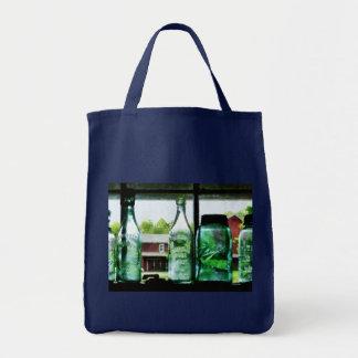 Bottles and Canning Jars Tote Bag