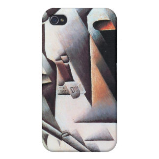 Bottles and Knife, by Juan Gris iPhone 4 Cover
