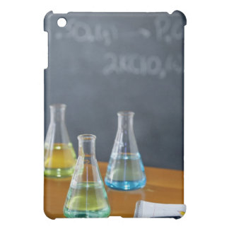 Bottles arranged for science experiment iPad mini covers