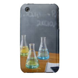 Bottles arranged for science experiment iPhone 3 Case-Mate cases