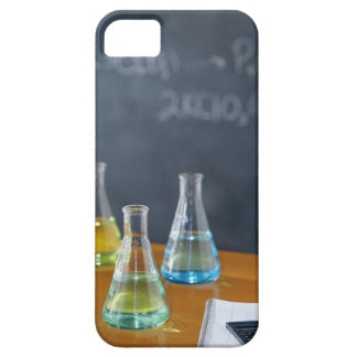 Bottles arranged for science experiment iPhone SE/5/5s case