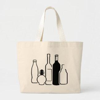 Bottles Tote Bags