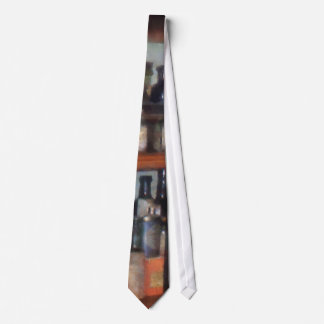 Bottles in General Store Neck Tie