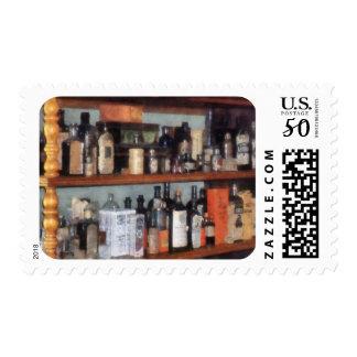 Bottles in General Store Postage