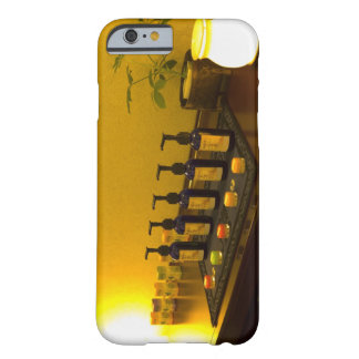 Bottles of aromatherapy oil in the beauty salon, barely there iPhone 6 case