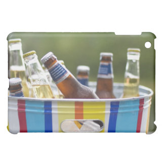 Bottles of beer in ice bucket cover for the iPad mini