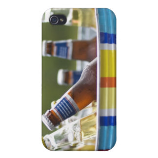 Bottles of beer in ice bucket covers for iPhone 4