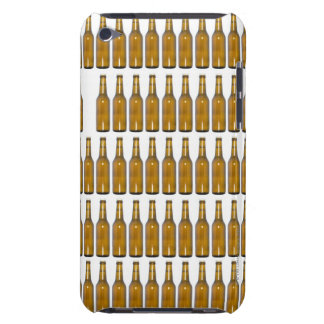 Bottles of beer on white background barely there iPod case