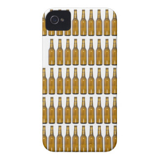 Bottles of beer on white background iPhone 4 cover