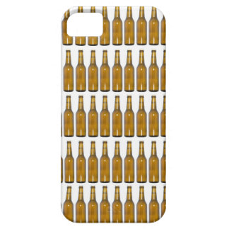 Bottles of beer on white background iPhone 5 cover
