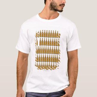 Bottles of beer on white background T-Shirt