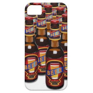Bottles of beer side by side (Digital Composite) iPhone SE/5/5s Case