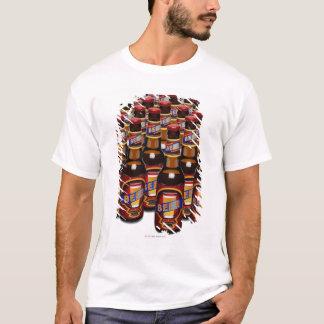 Bottles of beer side by side (Digital Composite) T-Shirt