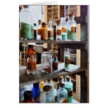 Bottles of Chemicals Card