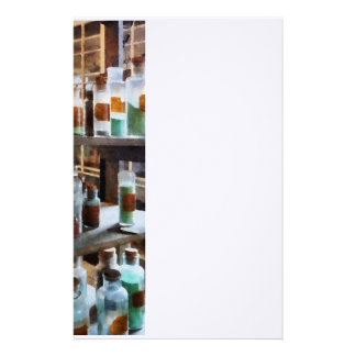 Bottles of Chemicals Stationery