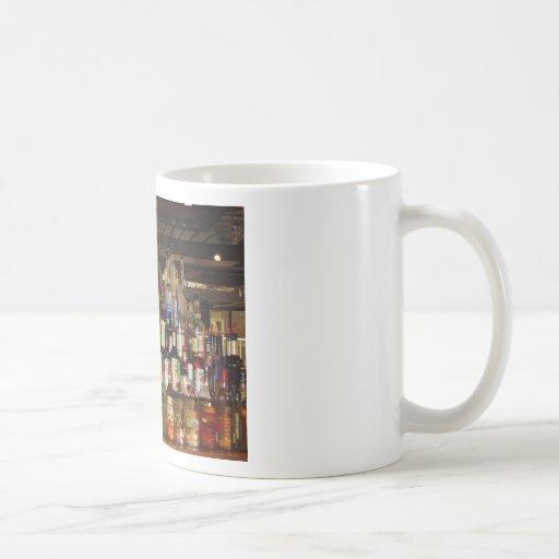 Bottles of Liquor Coffee Mug
