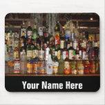 Bottles of Liquor Mouse Mat