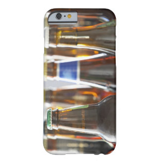 Bottles of various bottled beer in studio barely there iPhone 6 case